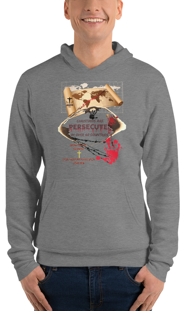Persecuted (FLEECE HOODIE) - in 4 colors