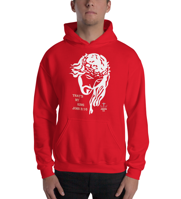 My King (Hooded Sweatshirt) - in 6 colors
