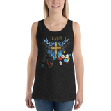Jesus Cross (TANK) - in 9 colors