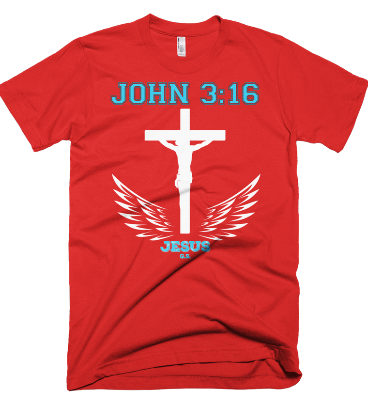 John 3:16 (Made in the U.S.A.) - in 8 colors