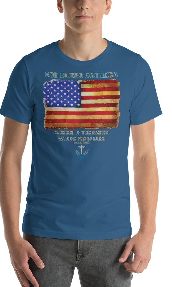 God Bless (JERSEY) - in 14 colors - Jesus Gift Store