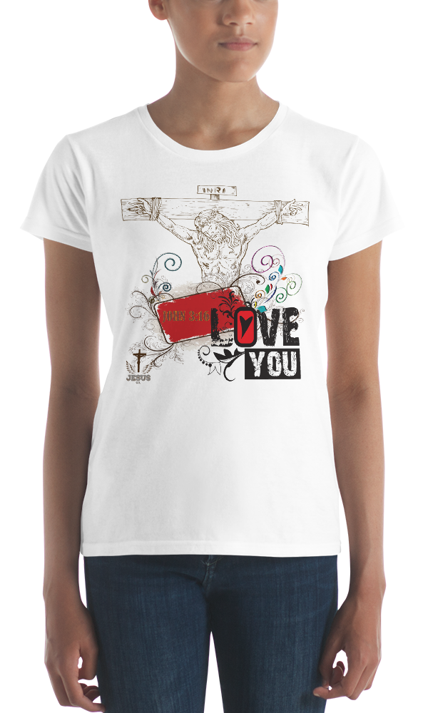 Jesus Loves You (CLASSIC FIT) - in 6 colors