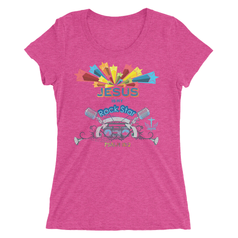 Rock Star (WOMEN'S FITTED) - in 9 colors