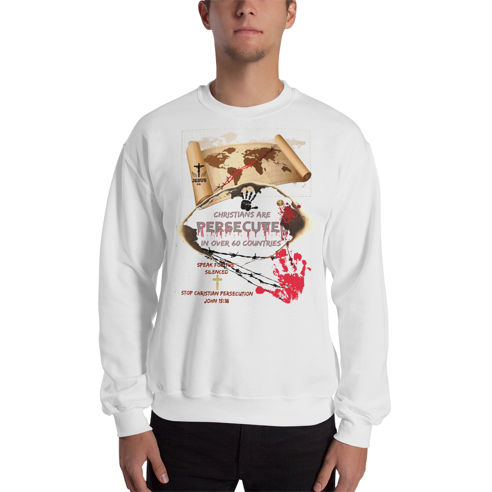 Persecuted (CREWNECK) - in 4 colors