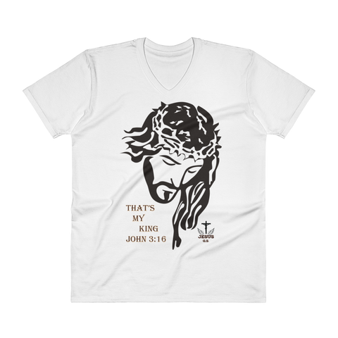 My King (V-Neck) in 3 colors - Jesus Gift Store