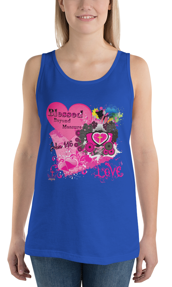 Blessed (TANK) - in 8 colors