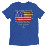 God Bless America (TRIBLEND) - in 8 colors