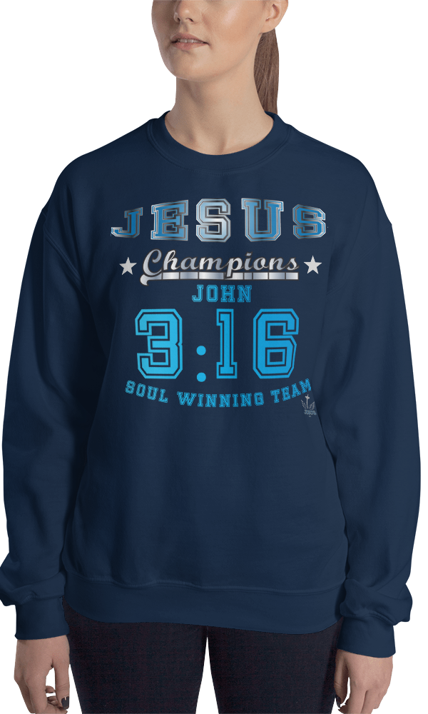John 3:16 (CREWNECK) - in 9 colors