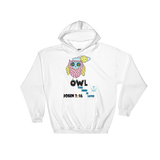 Owl (HOODED SWEATSHIRT)  - in 7 colors