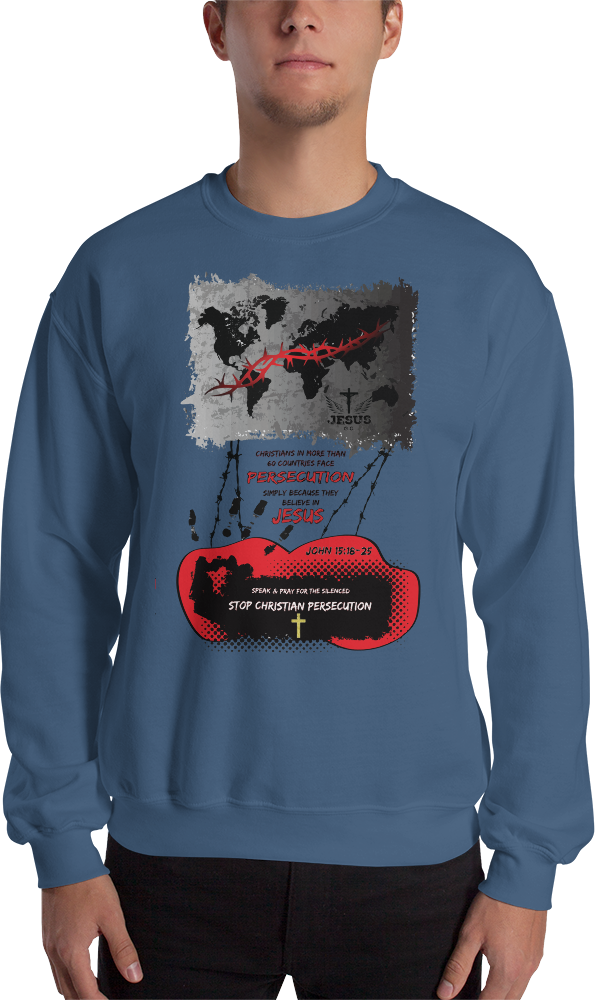 Persecution (CREWNECK) - in 4 colors