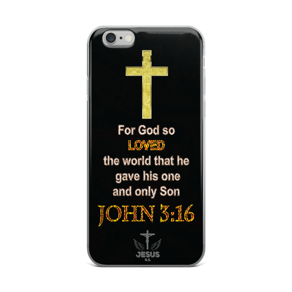 God So Loved - iPhone 6 Plus / 6s Plus, 6/6s - Jesus Gift Store