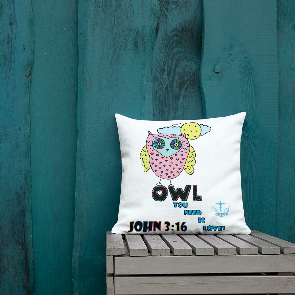 Owl You Need Is Love Pillow - 18x18