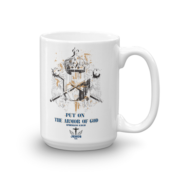Armor Of God Mug - Jesus Gift Store