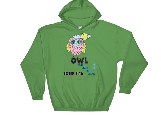 Owl You Need - in 7 colors