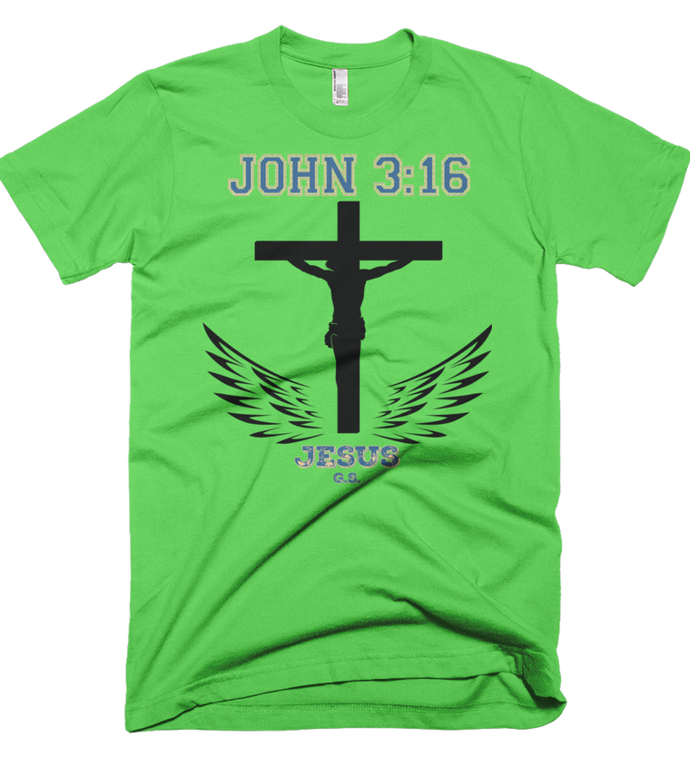 John 3:16 (Made in the U.S.A.) - in 9 colors