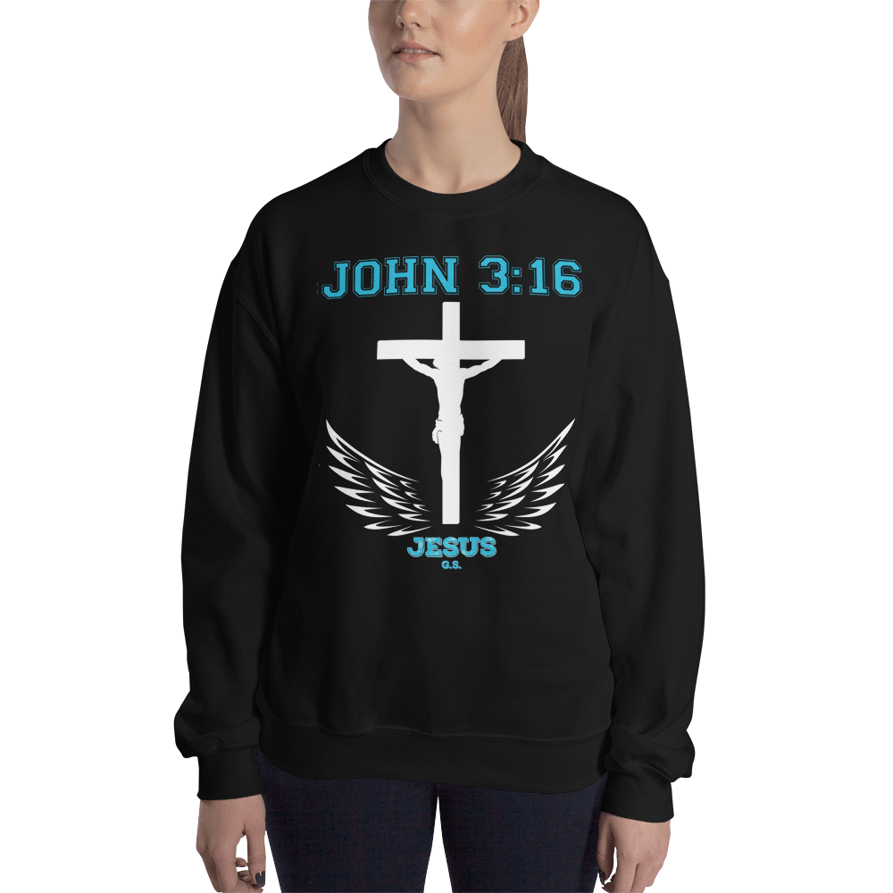 John 3:16 (CREWNECK) - in 6 colors