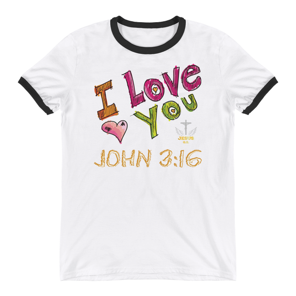 I Love You - in 3 colors - Jesus Gift Store