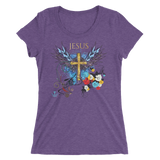 Jesus Cross (WOMEN'S FITTED) in 11 colors
