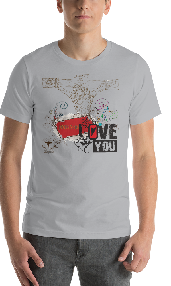 Jesus Loves You (JERSEY) - in 9 colors - Jesus Gift Store