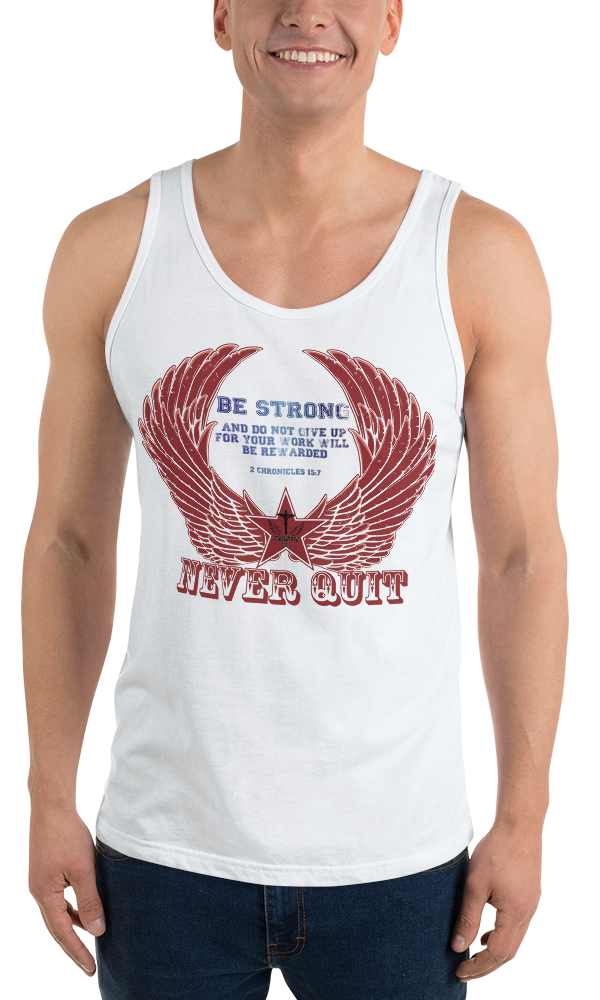 Never Quit (TANK) - in 3 colors