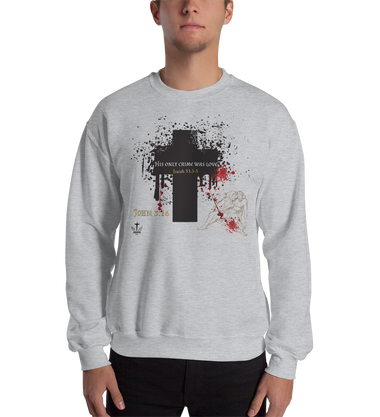 His Only Crime (CREWNECK) - in 5 colors