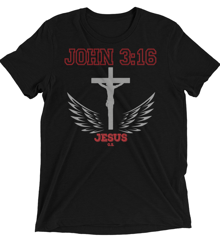 John 3:16 (TRIBLEND) - 8 colors - Jesus Gift Store