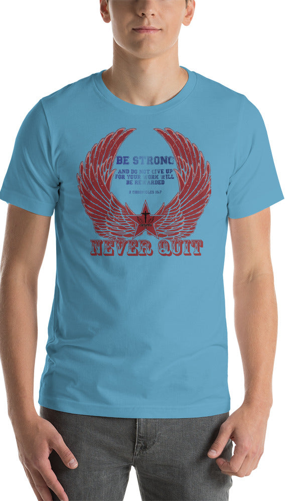 Never Quit (JERSEY) - in 10 colors - Jesus Gift Store