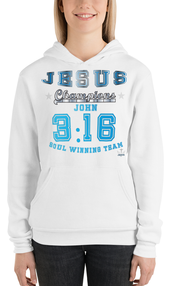 John 3:16 (FLEECE) - in 5 colors