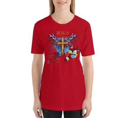 Jesus Cross (PERFECT FIT) - in 14 colors