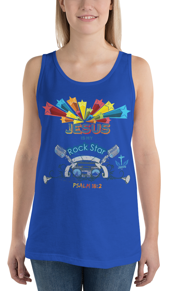 Rock Star (TANK) - in 10 colors