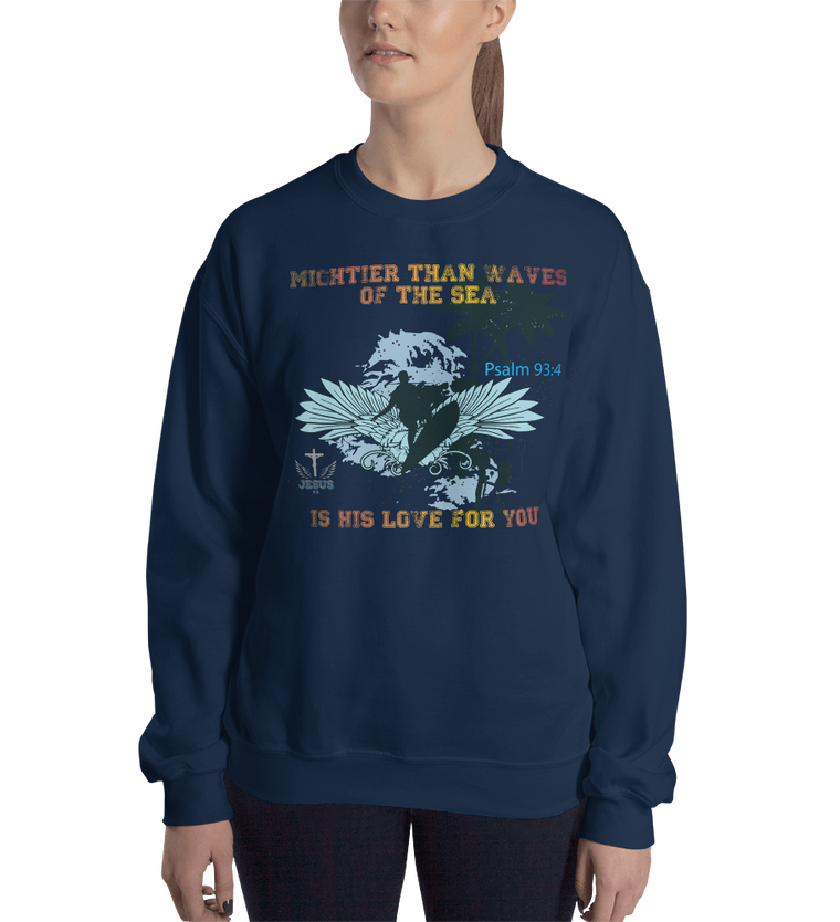 Waves (CREWNECK) - in 7 colors