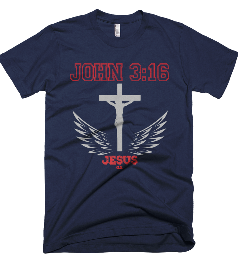 John 3:16 (Made in the U.S.A.) - In 7 colors