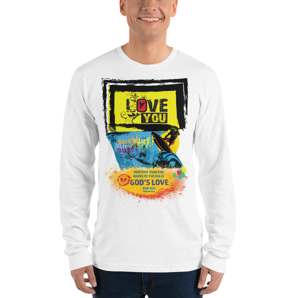 God Surf (LONG SLEEVE) - in 4 colors