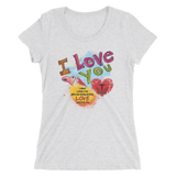Love You (FITTED) - in 15 colors - Jesus Gift Store