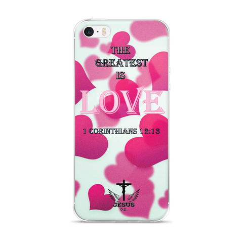 Greatest LOVE - iPhone 6 Plus / 6s Plus, 6/6s - Jesus Gift Store