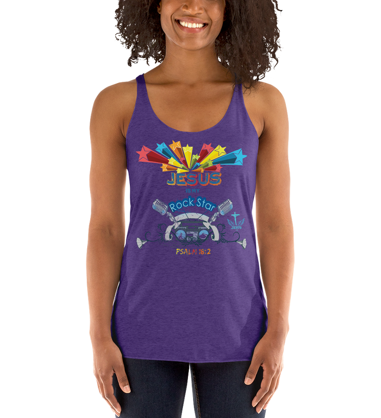 Rock Star (RACERBACK TANK) - in 9 colors