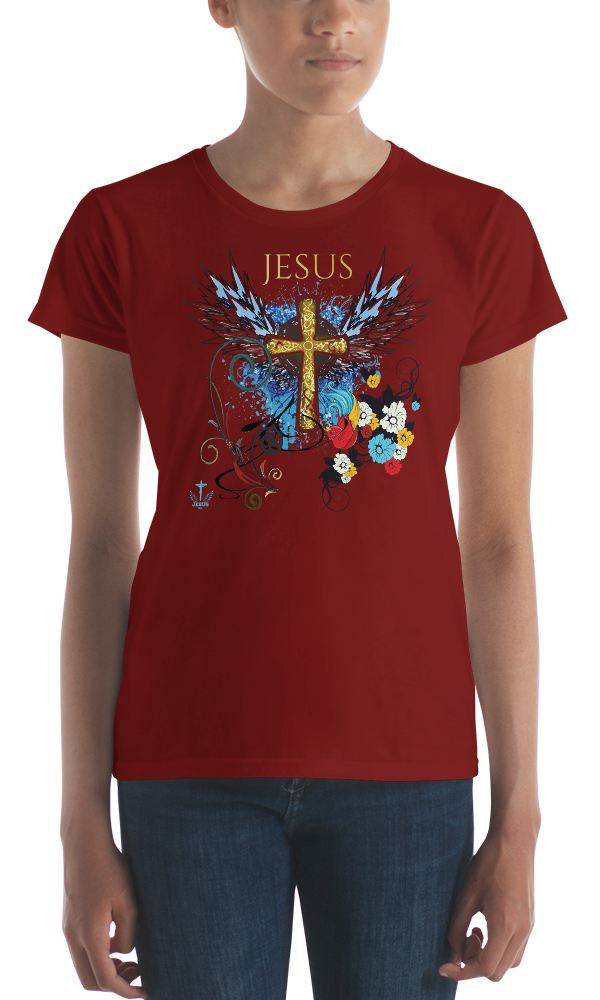 Jesus Cross (CLASSIC FIT) - in 10 colors