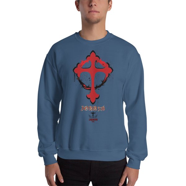 John 3:16 (CREWNECK) - in 3 colors