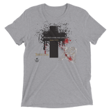 His Only Crime Was Love (TRIBLEND) - 5 colors - Jesus Gift Store