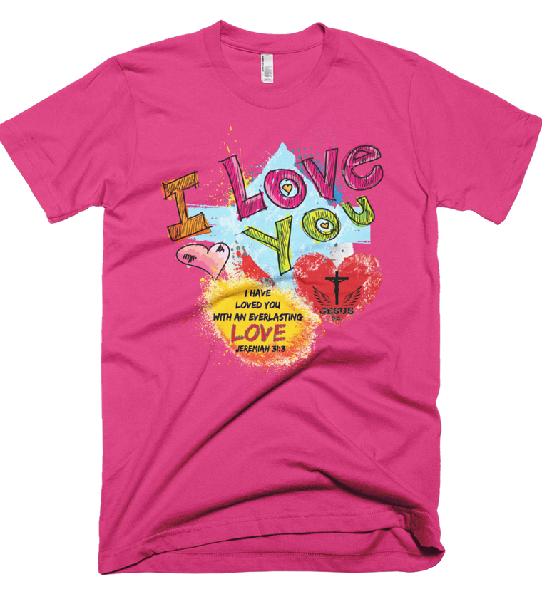 Love You (Made in the U.S.A.)  - in 12 colors