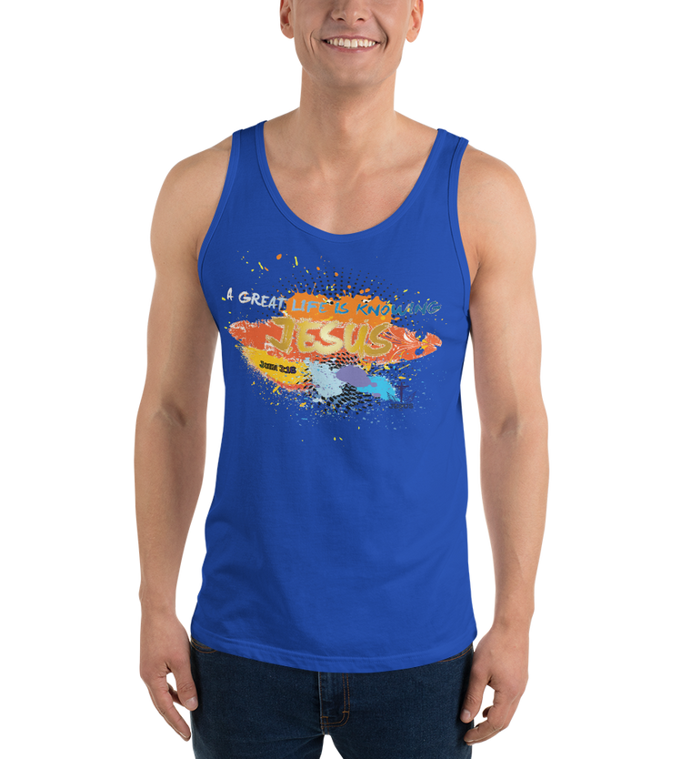 Knowing Jesus (TANK) - in 9 colors