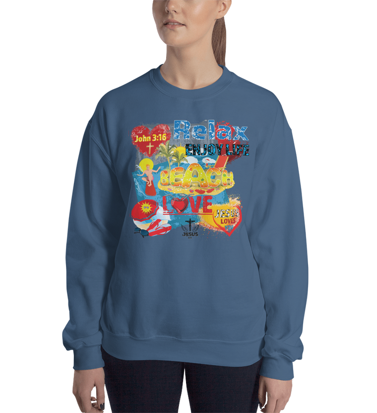 Relax Enjoy Life (CREWNECK) - in 8 colors