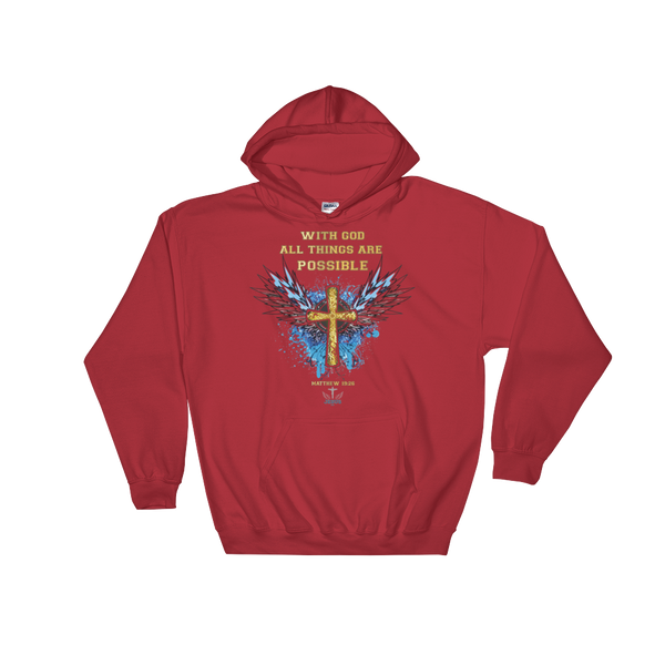 With God (HOODED) - in 6 colors