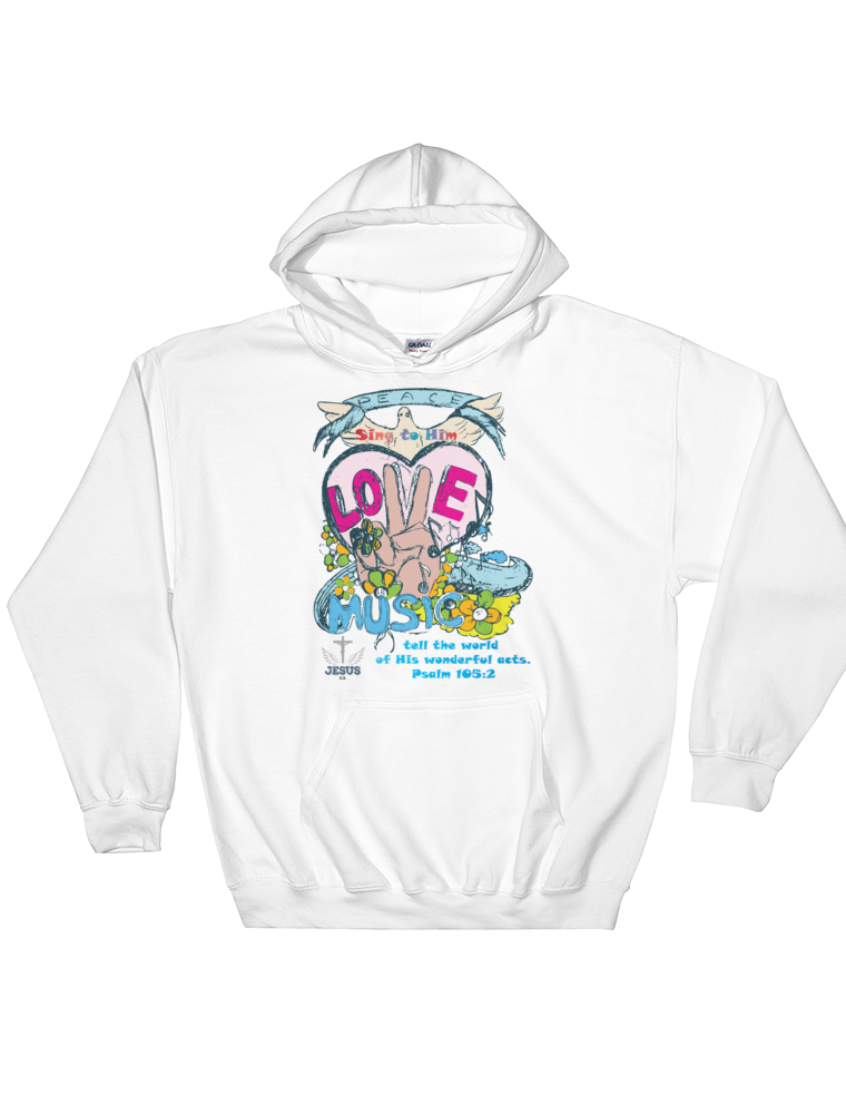 Tell The World (HOODED SWEATSHIRT)  6 colors