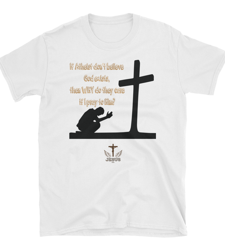 Atheist Don't Believe (FUNNY SHIRT)  1 color