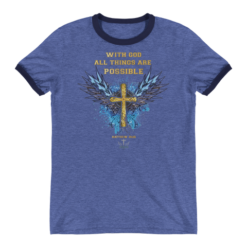 All Things (VINTAGE) - in 4 colors - Jesus Gift Store