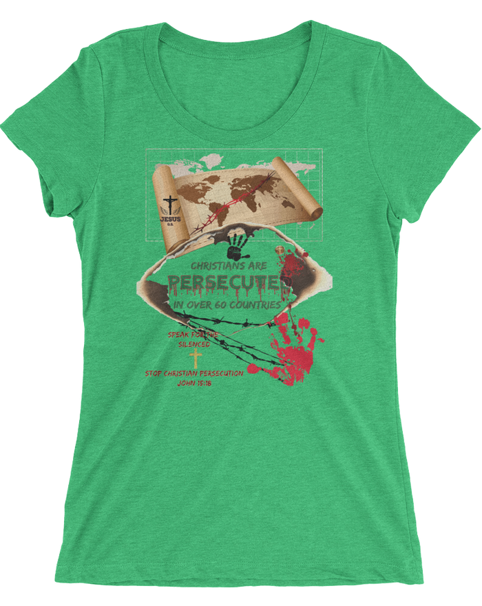 Persecuted (WOMEN'S FITTED) - 11 colors