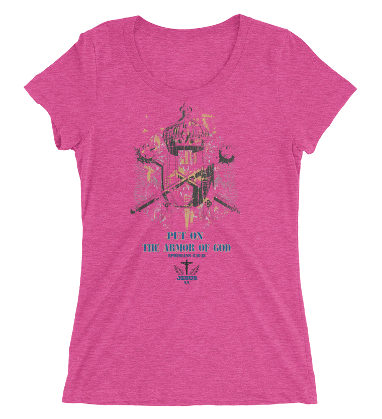 Armor (WOMEN'S FITTED) - 10 colors - Jesus Gift Store