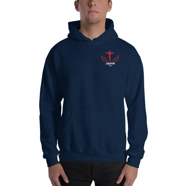 Jesus (HOODED SWEATSHIRT) - in 3 colors