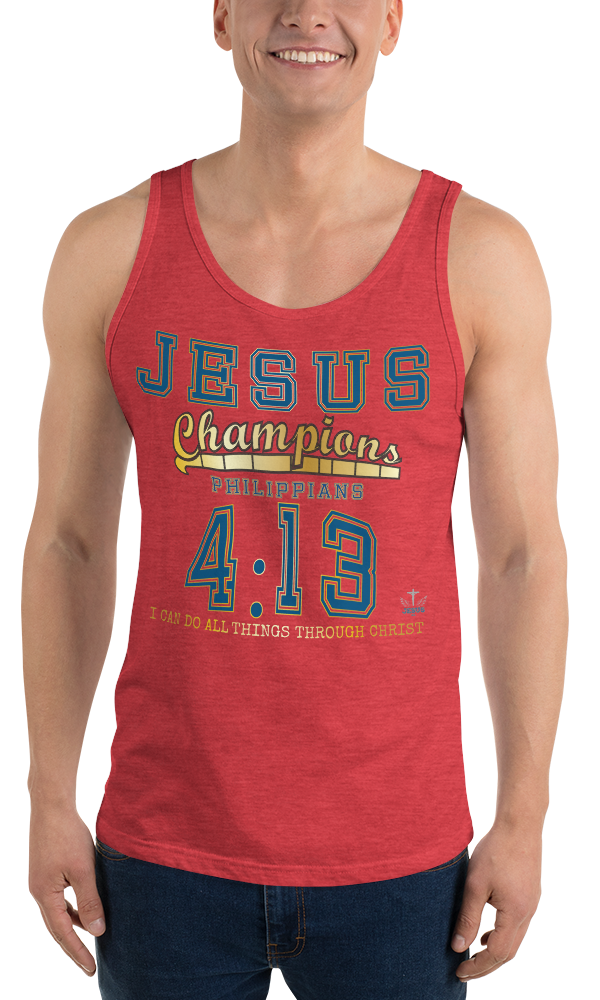 Philippians 4:13 (TANK) - in 8 colors